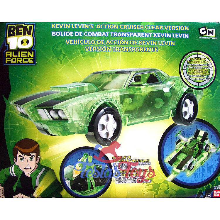 Ben 10 Alien Force Vehicle - Kevin's Cruiser (Clear Edition)