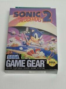 Sonic the Hedgehog 2 (Sega Game Gear) Brand New, Factory Sealed PSA 10 Rare