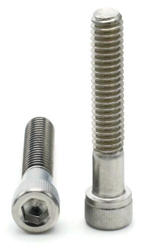 "3//8/""-1618-8 Stainless Steel Socket Head Cap Screws Select Length /& Qty"