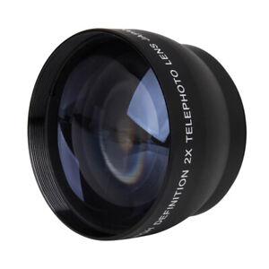 1x-52mm-2x-Vergroesserung-Teleobjektiv-fuer-Nikon-AF-S-18-55mm-55-200mm-Objektiv-w2e