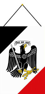 Gott-With-Uns-Eagle-Tin-Sign-Shield-with-Cord-7-7-8x11-13-16in-CC0960-K