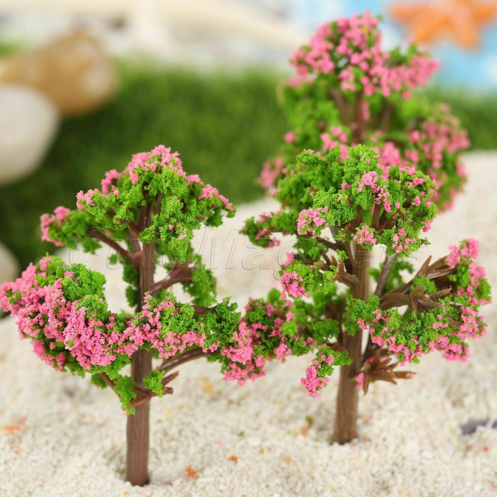 1//5pcs Mini Plant Flower Tree Plant Bonsai Fairy Dollhouse DIY Craft Home Décor
