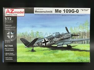 AZ-Model-1-72-AZ7545-Messerschmitt-Me-109G-0-V-Tail