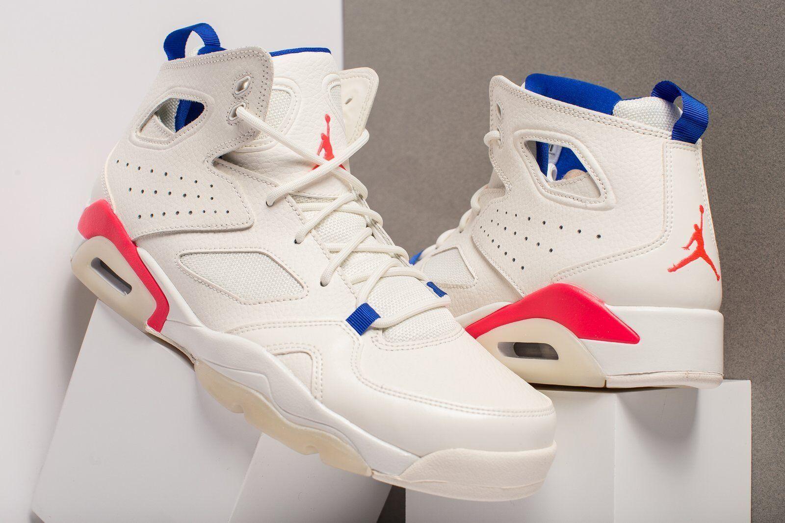 Nike Air Jordan Flight Club '91 Sail Racer Pink Men's Basketball shoes 555475-125