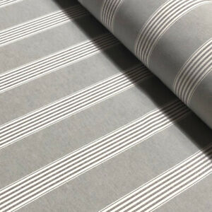 Chalk Check Grey 100/% Linen Fabric Curtains Upholstery