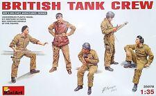MINIART #35078 WWII British Tank Crew Figuren in 1:35
