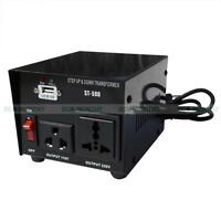 500/1000/2000/3000/5000w Step Up/down 110v- 220v Power Converter Transformer Us
