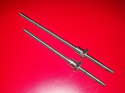 1pc Lead ball screw 16mm anti backlash RM1605-1400mm-C7+ball nut+end machine CNC