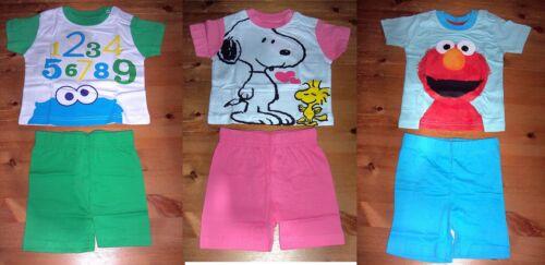 Baby Shorty Schlafanzug kurz 2 tlg Gr 68