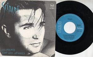 SCIALPI-disco-45-giri-1990-made-in-ITALY-Les-affaires-sont-affaires-Mio-tesoro