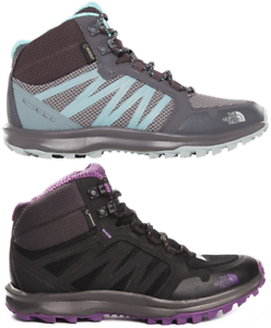 THE-NORTH-FACE-Litewave-FP-Mid-Gore-Tex-Outdoor-Hiking-Trekking-Boots-Womens-New
