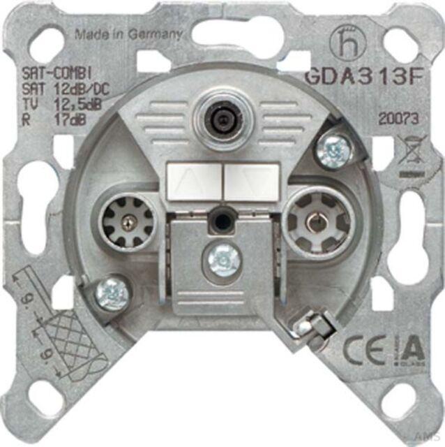 Jung Caja de Paso 3-Loch Universal Gda 313F