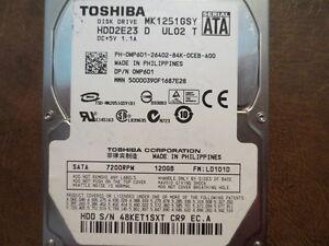 Toshiba-MK1251GSY-HDD2E23-D-UL02-T-FW-LD101D-120gb-2-5-034-Sata-Hard-Drive