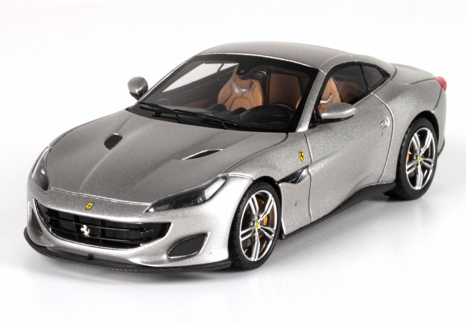 a la venta Ferrari Portofino Cabriolet Cabriolet Cabriolet Closed 2017 Aluminium Matt BBR 1 43 BBRC209B  tienda de pescado para la venta