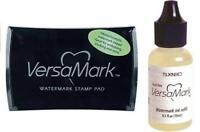Tsukineko Versamark Ink Pad Watermark Ink Pad + Refill