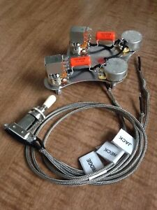 Gibson Les Paul 50's Wiring 500k Push/Pull Coil Split Long Shaft  Switchcraft CTS | eBayeBay