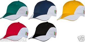 Caricamento dell immagine in corso CAPPELLO-cappellino-italia-dell-039- italia-con-visiera- 714dedc43dad