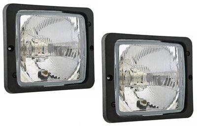 Scheinwerfer Traktorlampe 12V H4 Abblend Fern Standlicht inklusive Birnen 22879