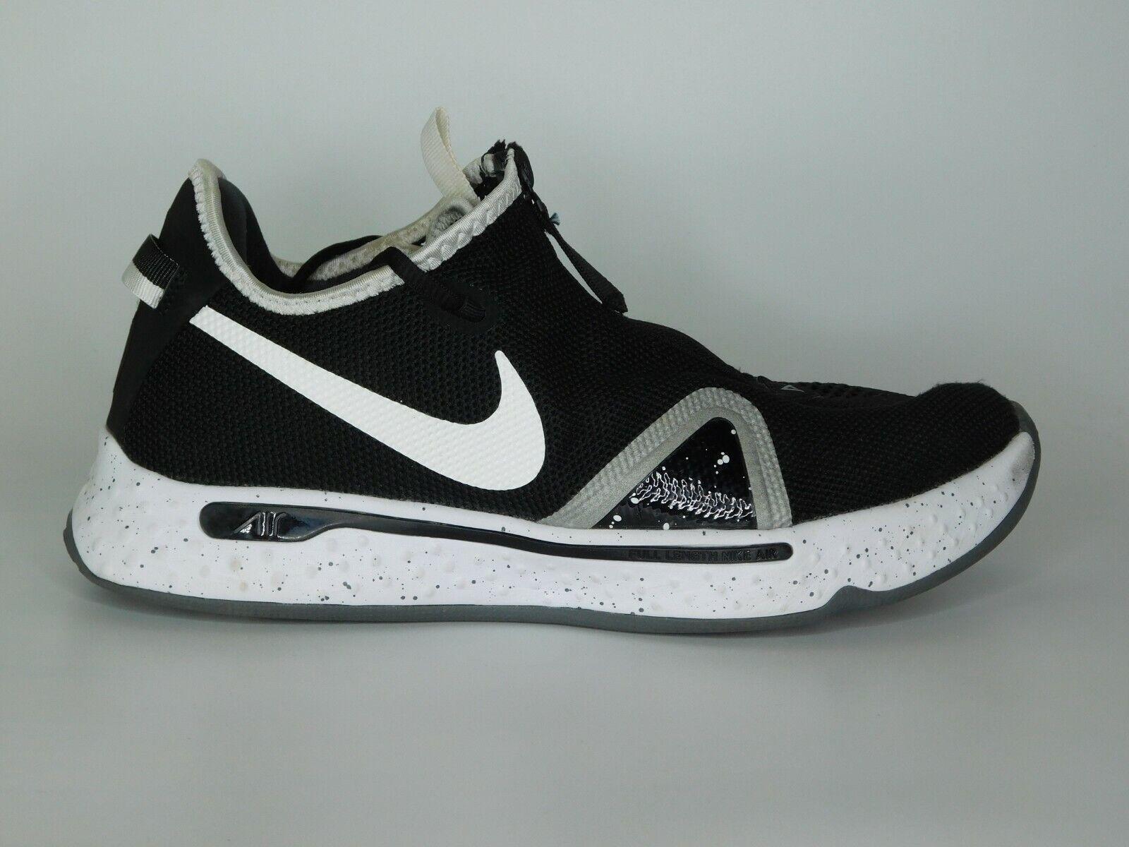 Nike PG4 Paul George Basketball Shoes Black And White US Size 9.5 CK5828-002 on eBay thumbnail