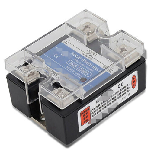 Semiconductor relay for skimmed MGR-1 D4825 Single Phase SSR 25A DC 3-32V AC 24-480V