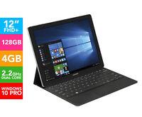 Samsung Galaxy Tabpro S Pro Edition Sm-w703nzkaxsa 12-inch Laptop/tablet - Black