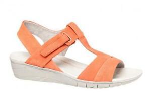 Hush-Puppies-Margo-Irvine-Leather-Wedge-Sandals-Lightweight-Adjustable-Comfort