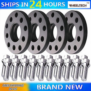 4 pieces 15mm Hubcentric Wheel Spacers for VW Golf Jetta Audi PCD 5x100 5x112 600682419116