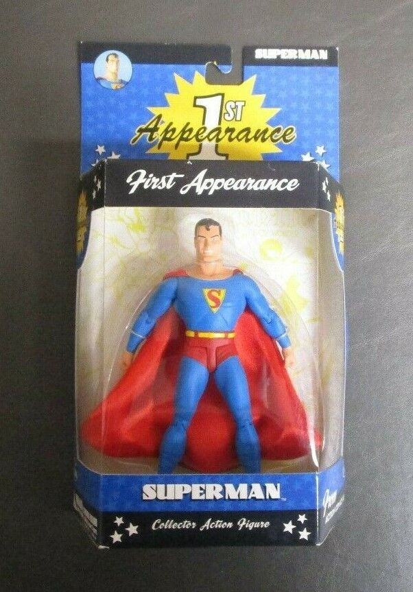 Superman First Appearance 1st DC DIRECT Collector Action Figure MIB MIB MIB GV 5649f8