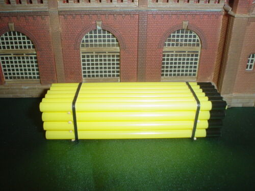 Ho descarga-carga 014-tubos amarillo corto para todos los vagones de todos los fabricantes
