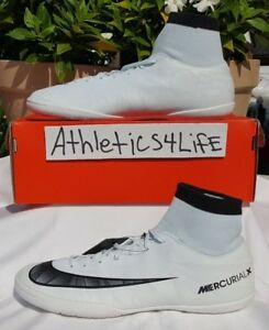 b29e549687 NIKE MERCURIALX VICTORY VI CR7 DF IC SOCCER SHOES SZ 11.5 WHITE ...