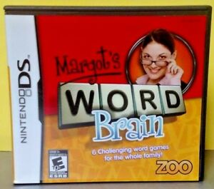 Margot-039-s-Word-Brain-Nintendo-DS-DS-Lite-3DS-2DS-Game-Complete-Tested