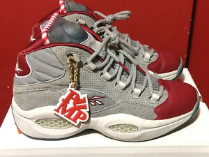 boy low cost latest trends Details about Reebok x Villa 25th Anniversary Pump Question Mid A Day In  Philly Allen Iverson