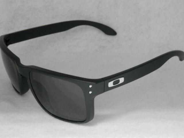 Oakley 0oo9102 Holbrook 57mm Matte Black Warm Grey Lens Sunglasses ... 5b7f5bba1a