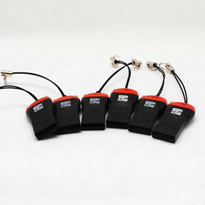 5PC-USB-2-0-Micro-SD-SDHC-TF-lettore-di-schede-di-memoria-Flash-Mini-adattatore