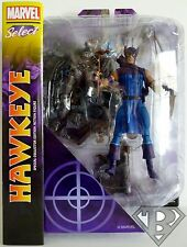 "CLASSIC HAWKEYE Marvel Select 7"" inch Action Figure 2014"