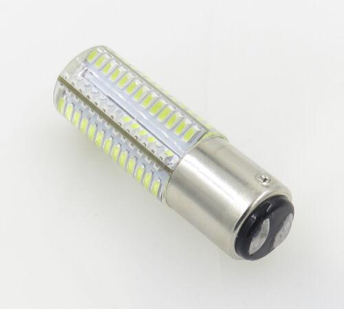 BA15D B15 4W 104-3014 SMD LED Light Bulb Best Fit Singer White FW 221k7//Black FW