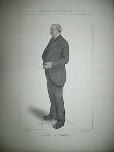 AURELIEN-SCHOLL-ECRIVAIN-JOURNALISTE-PORTRAIT-LITHOGRAPHIE-PAR-GERVEX-1887