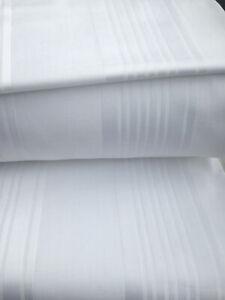 1500TC Egyptian Cotton SPLIT SHEET SET Custom Extra Deep Pocket Platinum Stripe