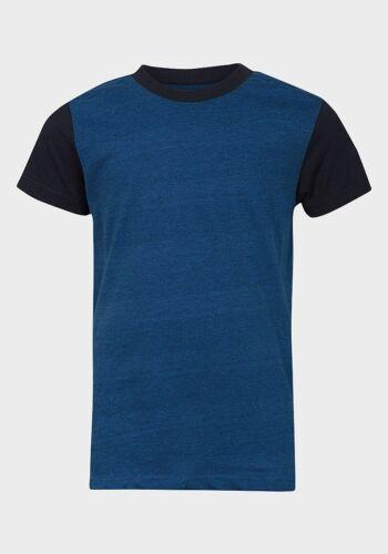 Boys Navy Blue T-Shirt Next Age 3-11 Free Postage