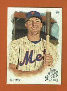 2019-Topps-Allen-amp-Ginter-Brandon-Nimmo-191-New-York-Mets