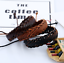 Fashion-Handmade-Unisex-Leather-Braided-Cuff-Bangle-Wristband-Bracelet-Jewelry thumbnail 3