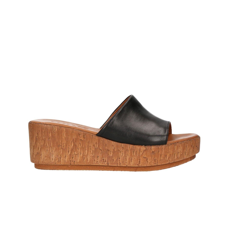 MELLUSO Ciabatte zeppa nero sandali Walk donna Walk sandali mod. K55033 e52162