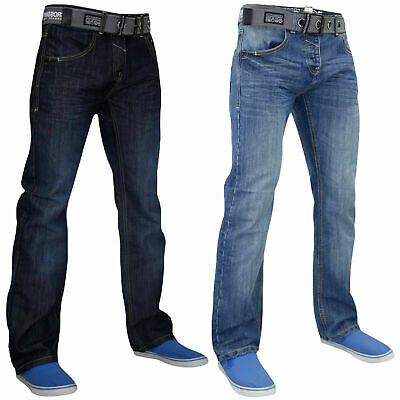 Jack /& Jones Jeans Uomo Slim Fit Stretch distressed denim pantaloni da uomo
