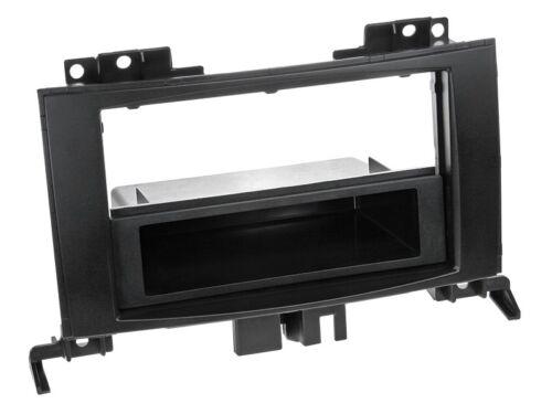 Volkswagen Crafter negro 1-din radio diafragma con compartimento Mercedes-Benz Sprinter