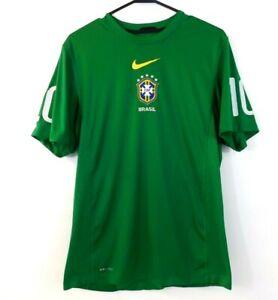 Nike-DriFit-Brasil-Brazil-2010-World-Cup-Soccer-Futbol-Training-Jersey-Medium