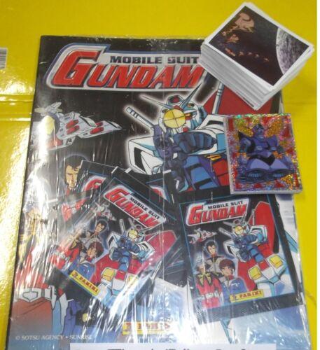 Mobil Suit Gundam  Album vuoto set Completo di  figurine Panini 2004
