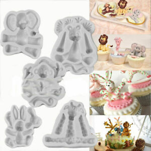 Baby-Animal-3D-Silicone-Fondant-Mould-Cake-Chocolate-Decor-Icing-Sugarcraft-Mold