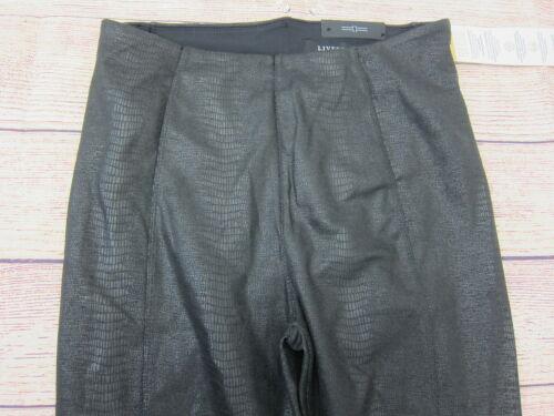 taglia Fix Carolyn 2 Leggings donna Nero Printed Stitch Liverpool Nwt xaYBqw66