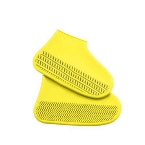 Waterproof Rainproof Shoe Cover Silicone Reusable Washable Wear-resistant Shoes