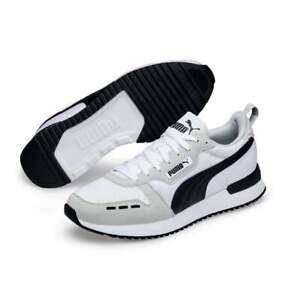Puma-Homme-R78-Baskets-Blanc-Gris